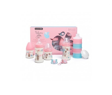 Suavinex® Welcome Baby Set Rosa 2-4 meses