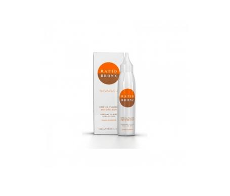 Rapid Bronz crema fluida preparadora para el sol cuerpo y cara 100ml