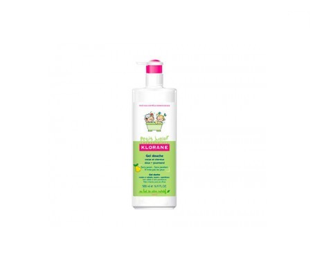 Klorane Petit Junior gel de ducha 500ml