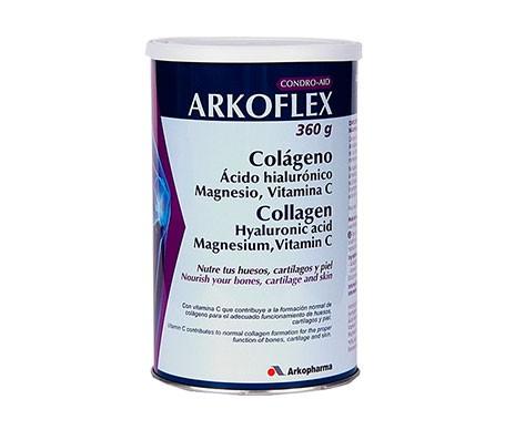 Arkoflex Colágeno + Ác. Hialurónico + Magnesio + Vitamina C sabor neutro 360g