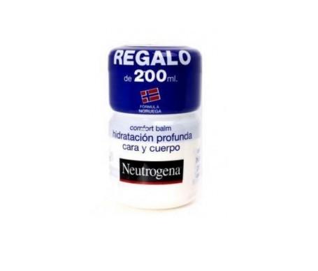 Neutrogena® Comfort Balm Hidratación Profunda Cara y Cuerpo 300ml + 200ml Regalo