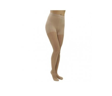 Medilast panty beige compresión normal T-S 1par