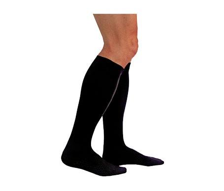 Medilast calcetín Silver Edition compresión fuerte negro T-M 1ud