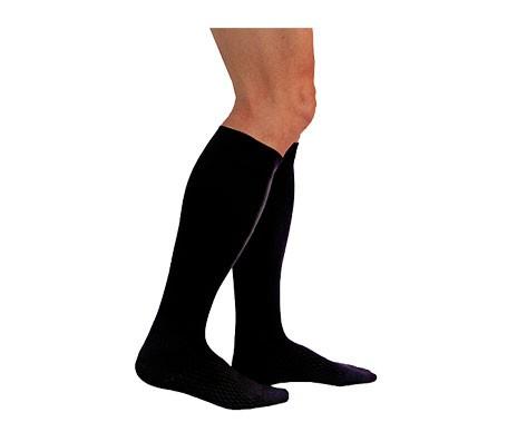 Medilast calcetín Silver Edition compresión fuerte negro T-XL 1ud