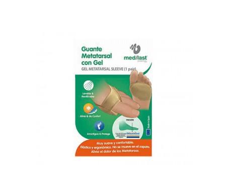Medilast guante metatarsal con gel T-L