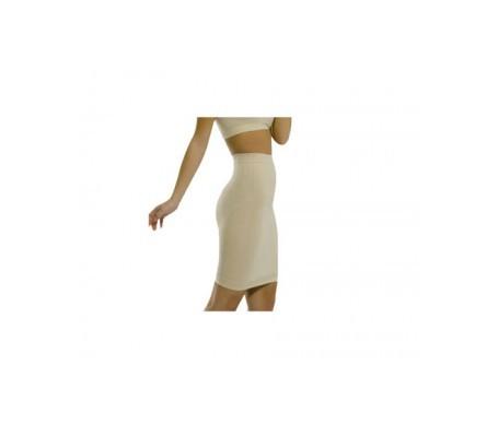 Medilast Siluette falda moldeadora beige T-M