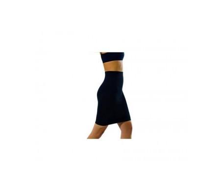 Medilast Siluette falda moldeadora negra T-XL