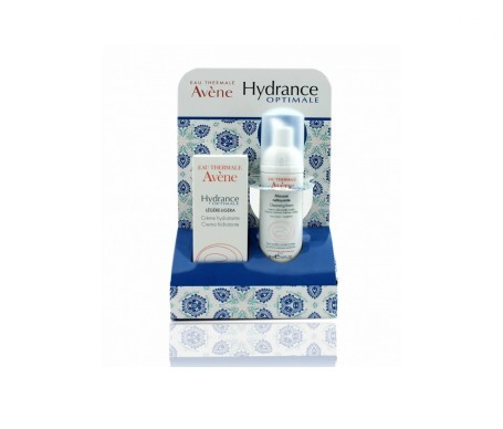 Avène Hydrance light 40ml + cleaning foam 50ml