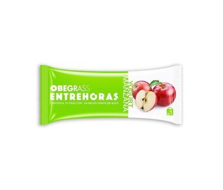 Obegrass Entrehoras barrita yogur y manzana 1ud