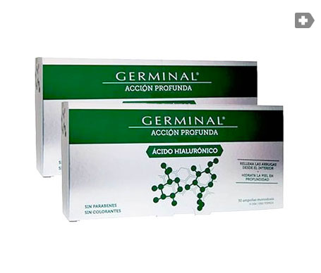 Germinal acido hialuronico 30 ampollas 2 uds