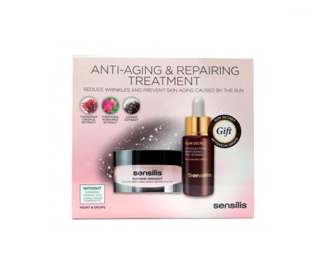 Sensilis Pack Anti-Aging & Repairing Treatment