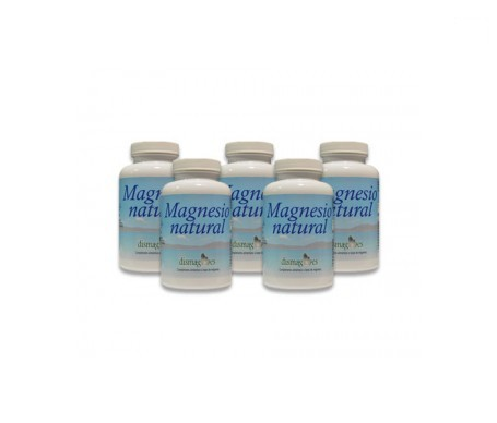 Dismag Natural Magnesium Crystallized 5x250g