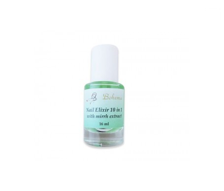 Bohema nail elixir 10 in 1 con extracto de mirra y keratina 16ml