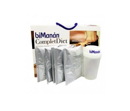 biManán® Complet Diet: 15 batidos + coctelera