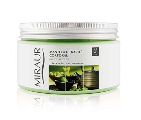 Miraur Spa Körpercreme Sheabutter und Grüner Tee 600ml