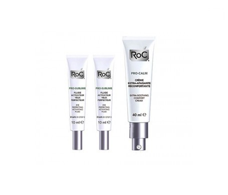 RoC® pro-sublime antiedad perfeccionador 10ml+10ml + RoC® Pro-Calm crema calmante 40ml