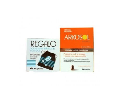 Arkosol Advance 30 perlas + REGALO bolsa para bañador