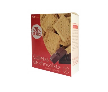 Dietclinical galletas de chocolate 40g 6uds