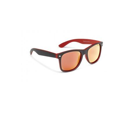 Loring gafas sol polarizadas negro y rojo Trópico