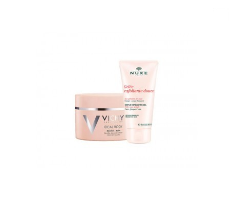 Vichy Ideal Body bálsamo 200ml+Nuxe gel exfoliante facial 75ml