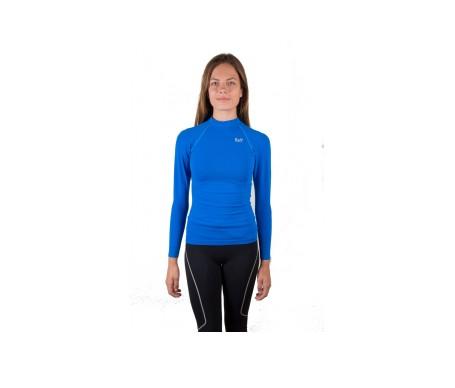 Raff Camiseta Deportiva Técnica Unisex Azul L