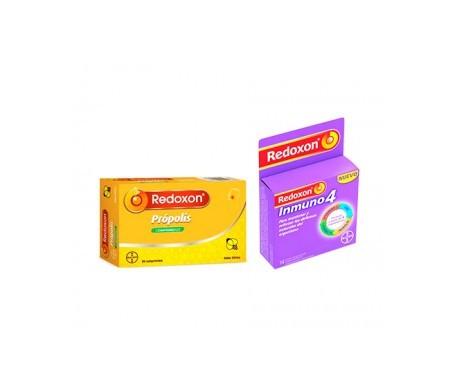Redoxon Immuno4 14 sachets + Redoxon Propolis 20comp