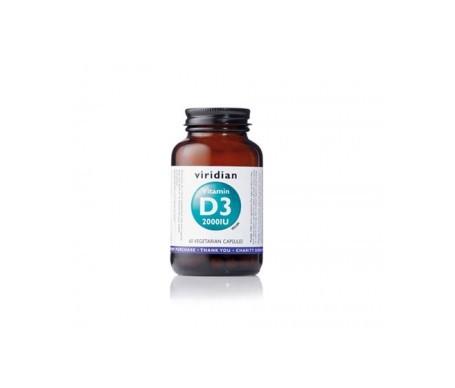 Viridian Vitamina D3 2000 IU 60cáps
