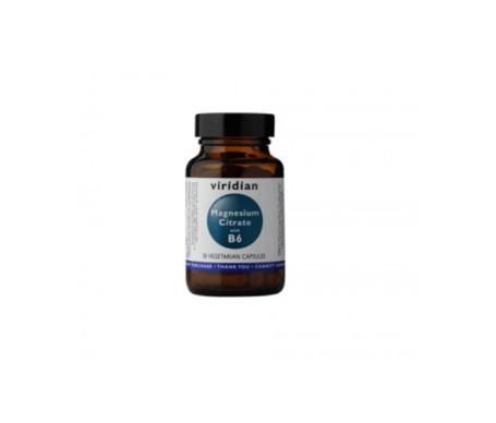 Viridian magnesio citrato con B6 30cáps