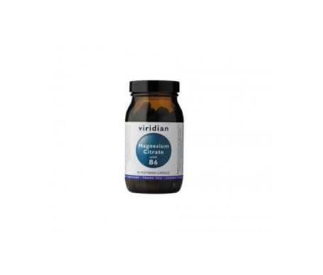 Viridian magnesio citrato con B6 90cáps