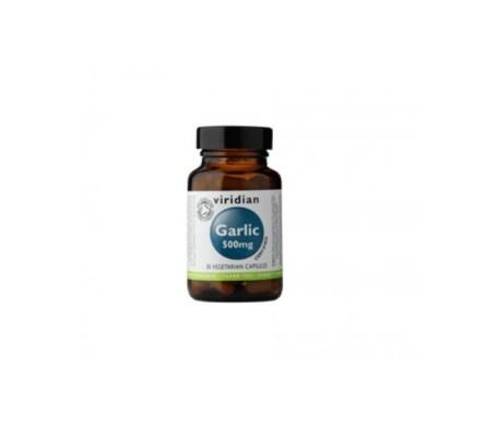 Viridian ajo orgánico 500mg 30cáps