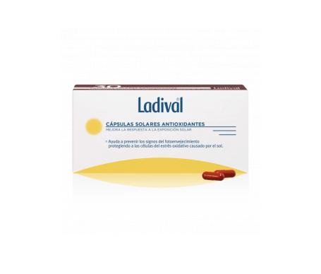 Ladival™ Emballage de capsules pour aider à protéger la peau avant le soleil 2udsx30caps