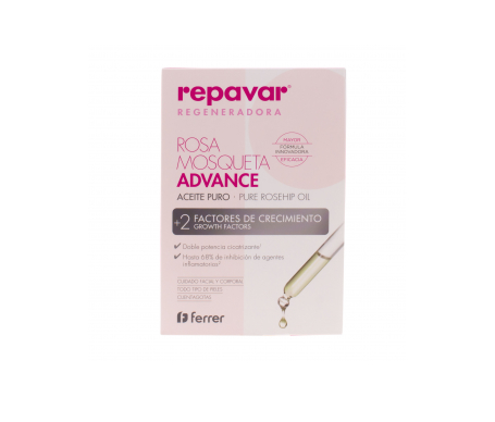 Repavar Rosa Mosqueta Advance aceite 15ml