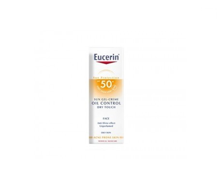 Eucerin  Oil Control Dry Touch facial gel-crema FPS30 50ml