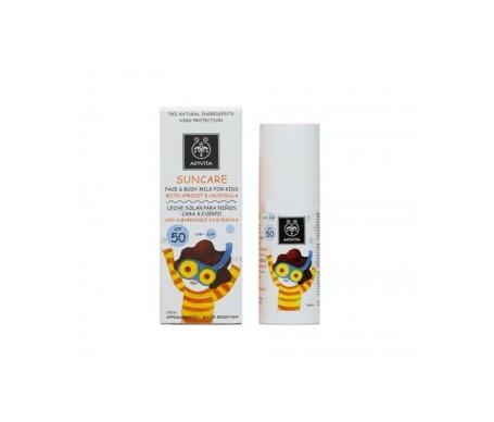 Apivita Suncare leche facial y corporal para niños SPF50 100ml