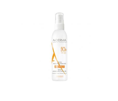 A-derma fotoprotector en spray SPF50 200ml