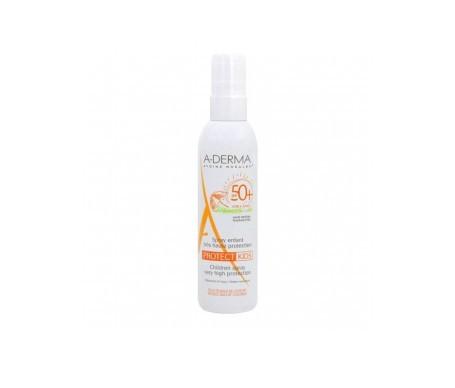 A-derma fotoprotector infantil en spray SPF50 200ml