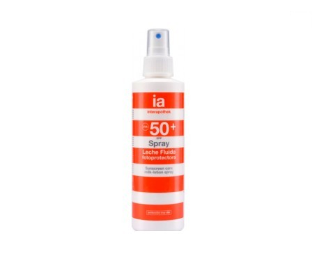 Interapothek spray leche fluida fotoprotectora SPF50+ 100ml