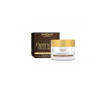 Postquam anti-wrinkle cream with retinol C 50ml