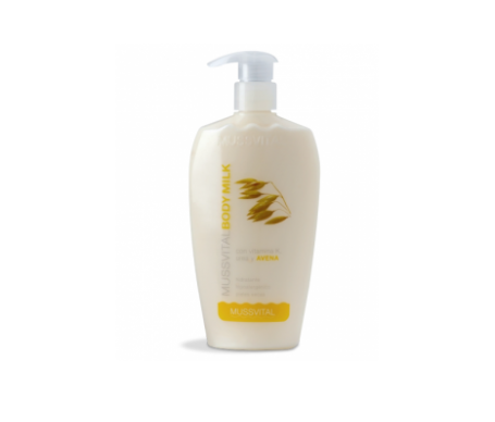 Mussvital body milk con urea avena y vitamina K 200ml