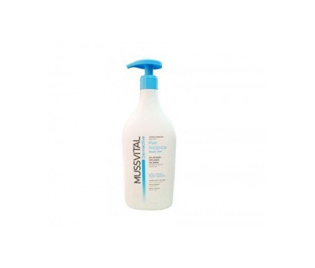 Mussvital dermactive emoliente piel atópica gel de baño 250ml