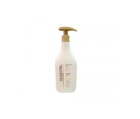 Mussvital dermactive gel de baño piel seca 400ml