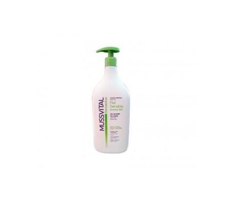 Mussvital dermactive gel de baño piel sensible 400ml