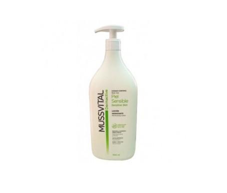 Mussvital dermactive loción hidratante piel sensible 1000ml