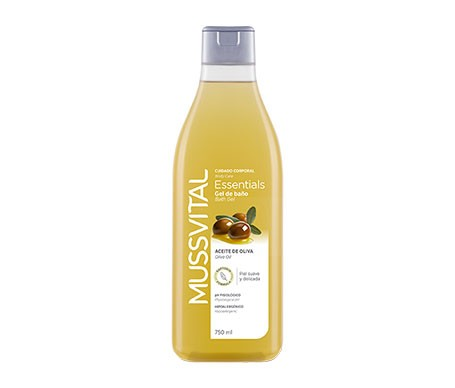 Mussvital Essentials Gel BaÑo Aceite De Oliva  750 Ml