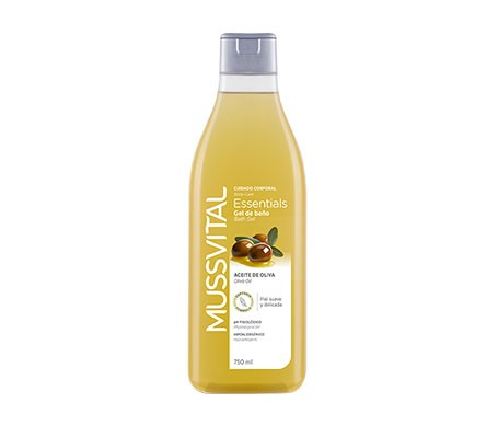 Mussvital Essentials gel de baño oliva 750ml