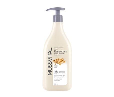 Mussvital Essentials gel de baño avena con dosificador 750ml