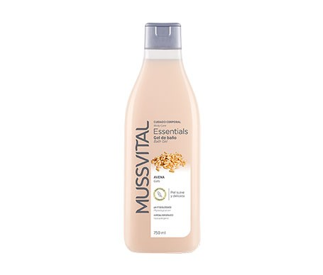 Mussvital Essentials gel de baño avena 750ml