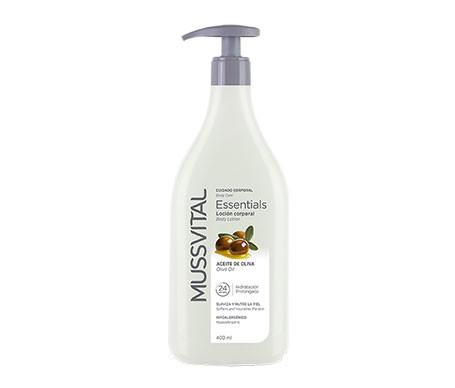 Mussvital Essentials Locion Corporal Ac Oliva  400 Ml