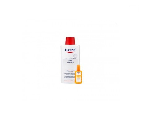 Eucerin Sun spray transparente SPF30+ 200ml + Eucerin loción pH5 200ml