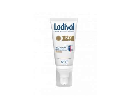 Ladival® antimanchas SPF50+ emulsión protectora con color 50ml